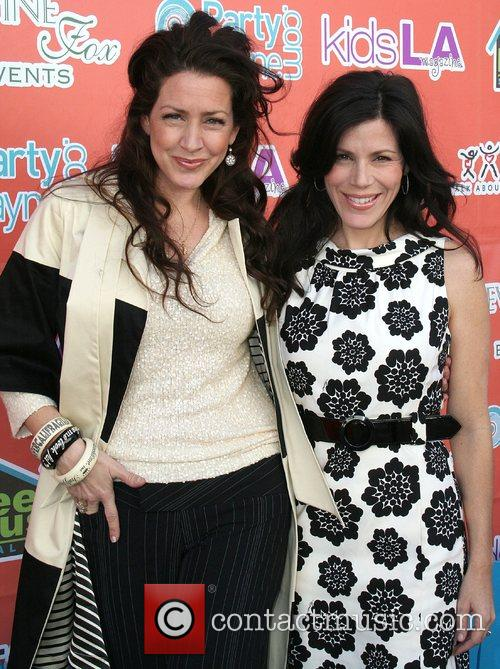 Joely Fisher & Tricia Leigh Fisher,  LA...
