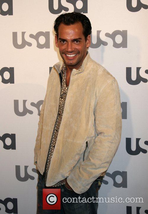 Cristian DeLaFuente Launch of USA Network 2008 LA...