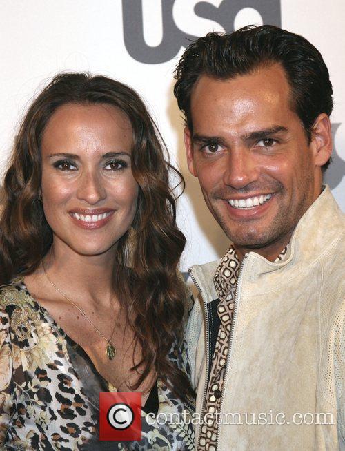 Cristian DeLaFuente and Angelica Castro Launch of USA...