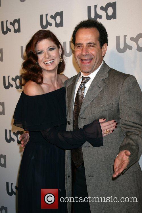 Debra Messing and Tony Shalhoub  Launch of...