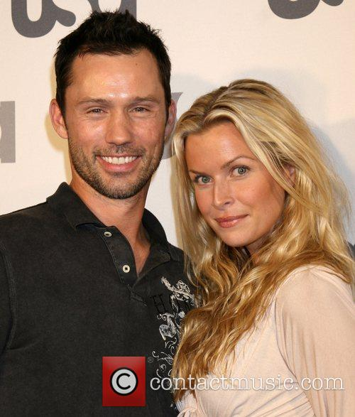 Jeffrey Donovan and Guest Launch of USA Network...