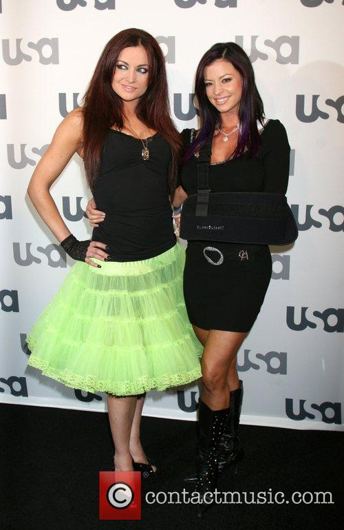 Maria Kanellis and Candice Michelle Launch of USA...