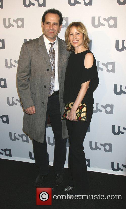 Tony Shalhoub and Traylor Howard Launch of USA...