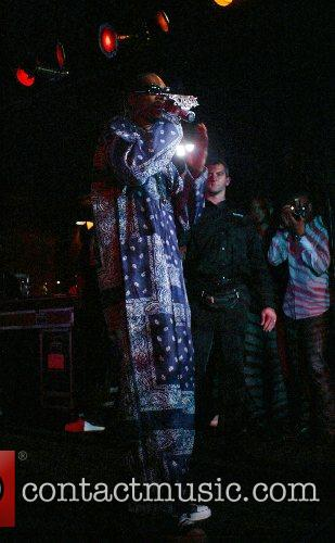 Snoop Dogg performing live in concert at Club...