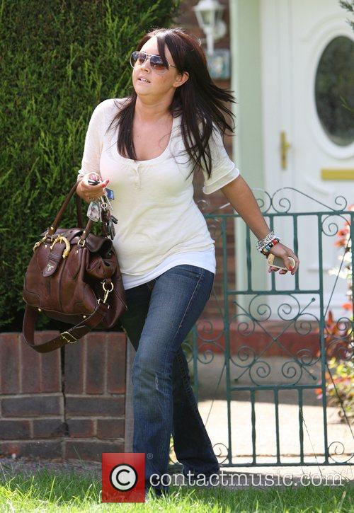 Lacey Turner After spending the day at the...