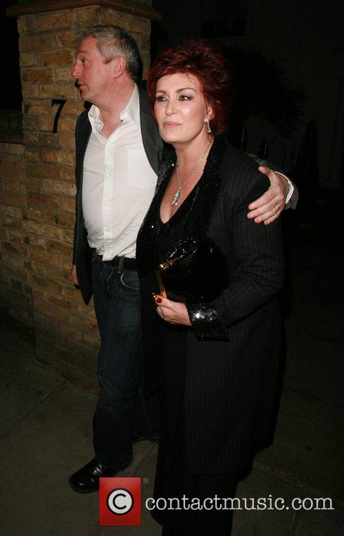 Louis Walsh and Sharon Osbourne at the Ladbroke...