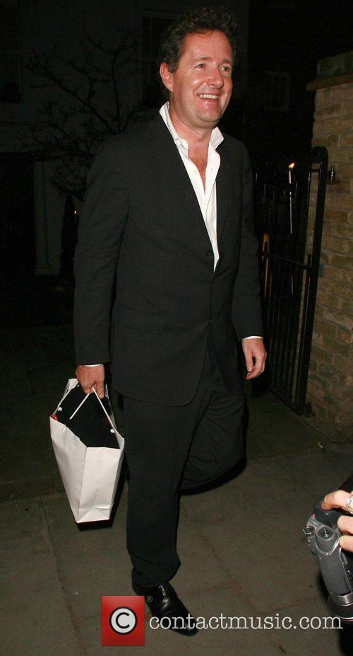 Piers Morgan at the Ladbroke Grove private Christmas...