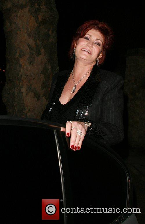 Sharon Osbourne at the Ladbroke Grove private Christmas...