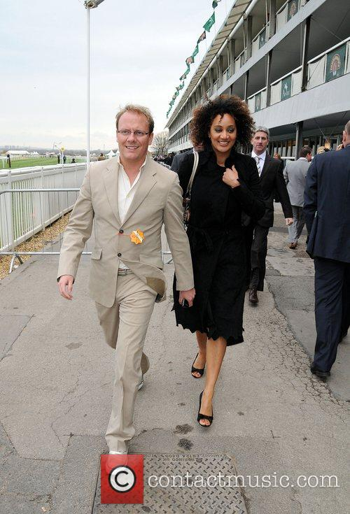 Antony Cotton and Tupele Dorgu attending Lady's Day...