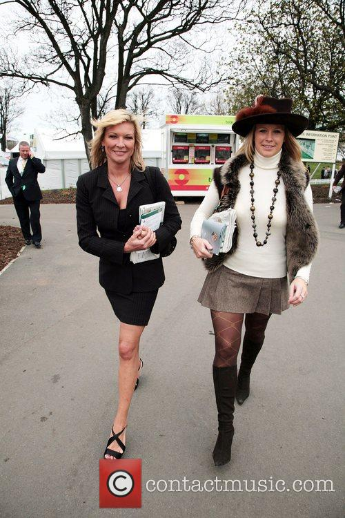 Claire King attending Lady's Day at the 2008...