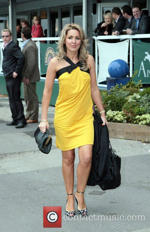 Attending Lady's Day at the 2008 Aintree Grand...