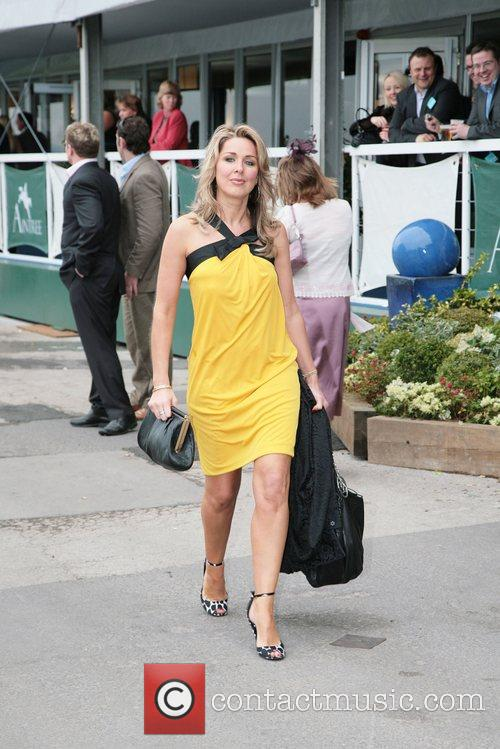 Claire Sweeney  attending Lady's Day at the...