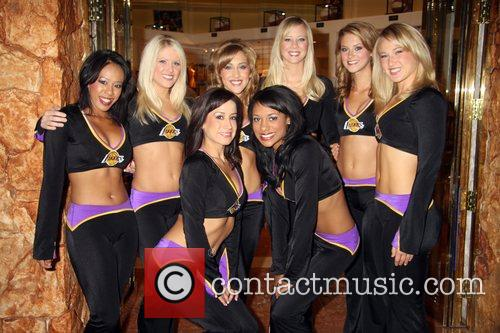 The Los Angeles Laker Girls Sign Autographs At...
