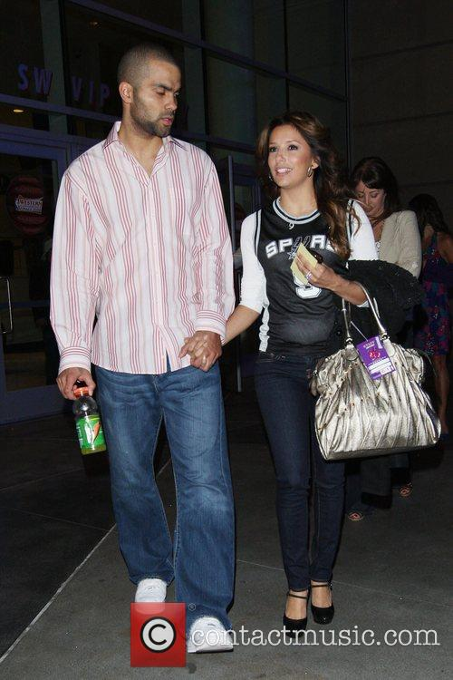 Eva Longoria and Tony Parker 7