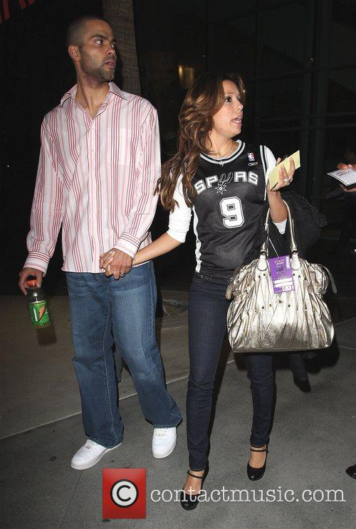 Eva Longoria and Tony Parker 8