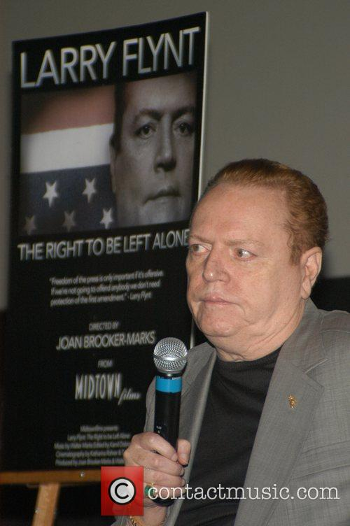 Premiere of 'Larry Flynt, The Right To Be...