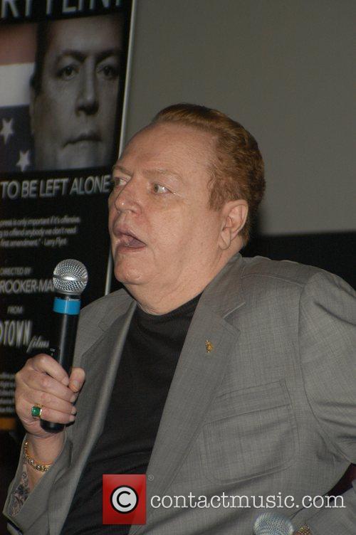 Larry Flynt Premiere of 'Larry Flynt, The Right...