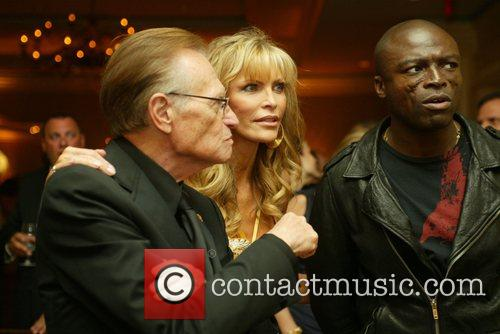 Larry King, Shawn King, Seal 20th Evening with...
