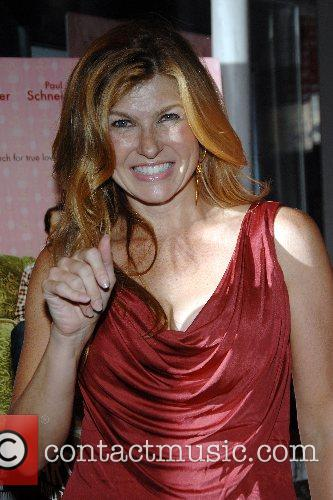 Connie Britton New York premiere of 'Lars and...