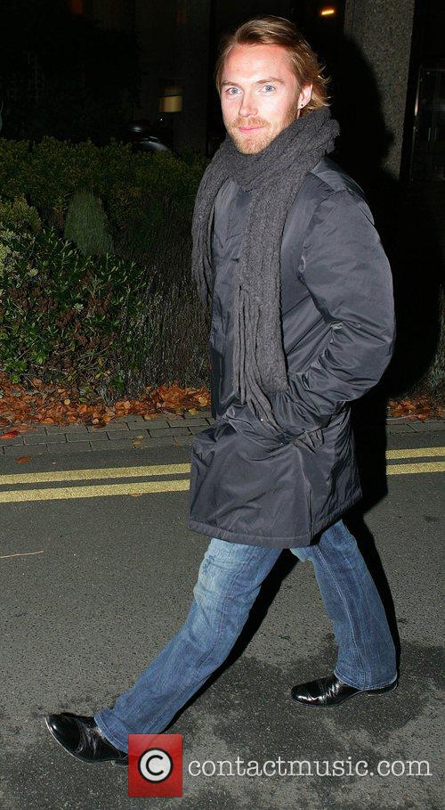 Ronan Keating arriving at the RTE studios for...