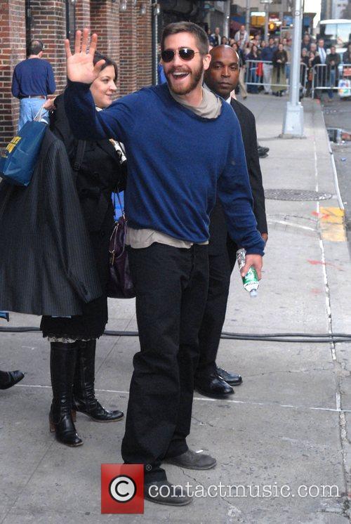 Jake Gyllenhaal and David Letterman 2