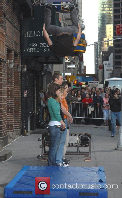 Jumping Stunt and David Letterman 3