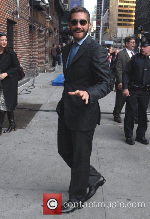 Jake Gyllenhaal and David Letterman 6