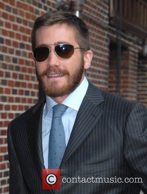 Jake Gyllenhaal and David Letterman 3