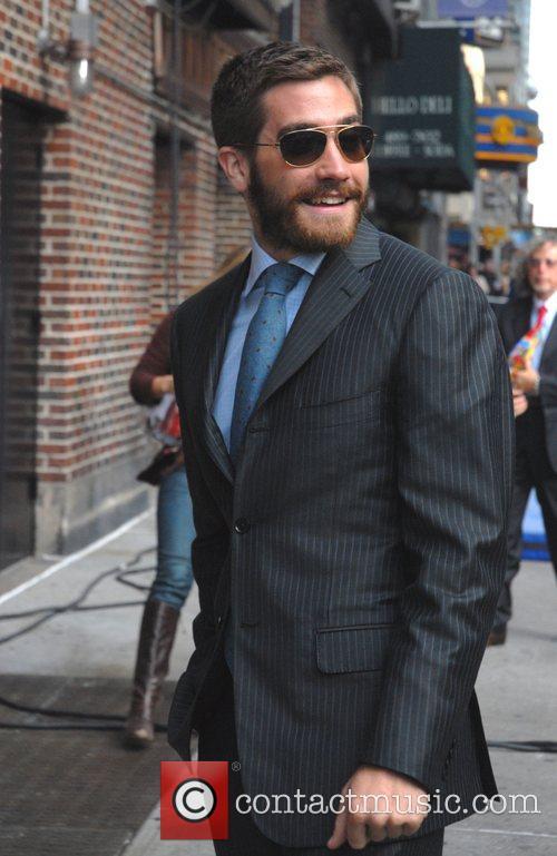 Jake Gyllenhaal and David Letterman 9