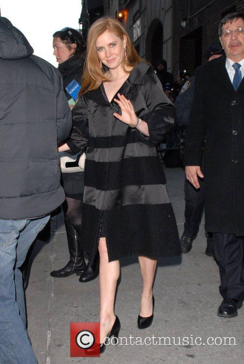 Amy Adams and David Letterman 4