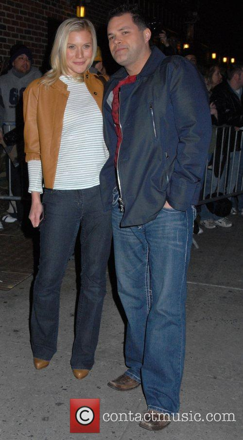 Katee Sackhoff and Aaron Douglas 2