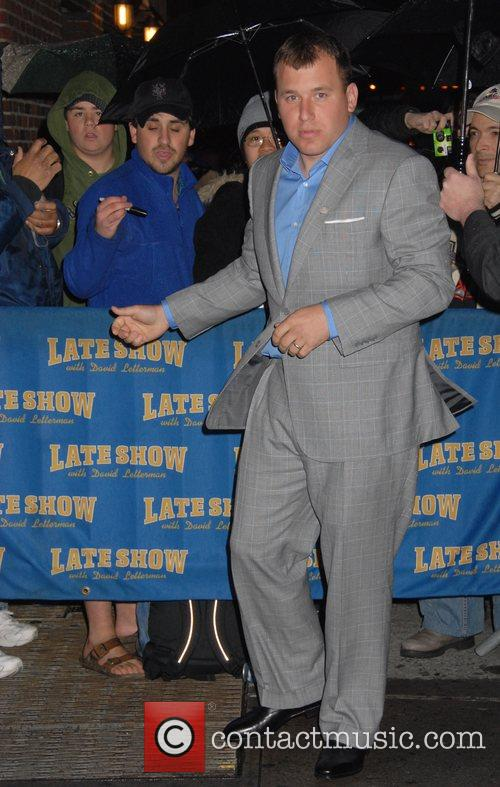Ryan Newman and David Letterman 8