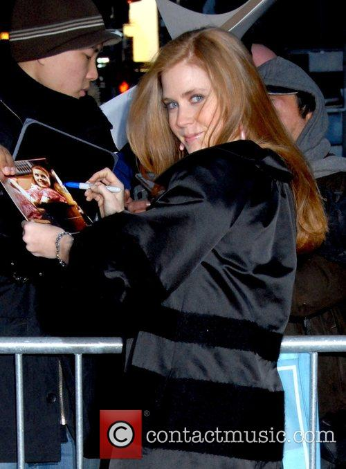 Amy Adams and David Letterman 10