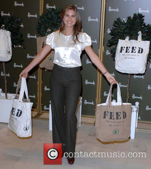 Launch of the Feed 1 Bag at Harrods...