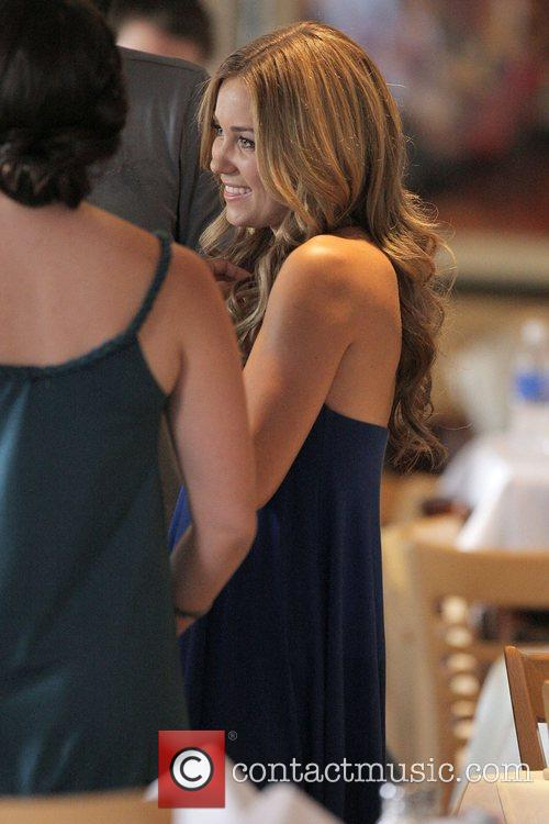 Lauren Conrad on the film set for 'The...