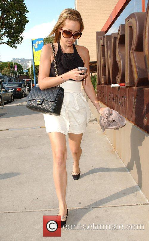 The Hills' Lauren Conrad goes shopping on Robertson...