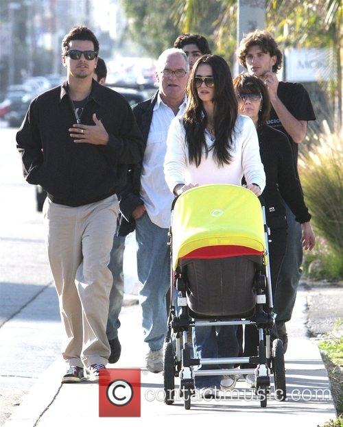 Lauren Sanchez Whitesell out with her new baby...