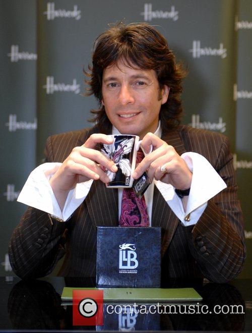 Laurence Llewelyn-Bowen signing at Harrods London, England