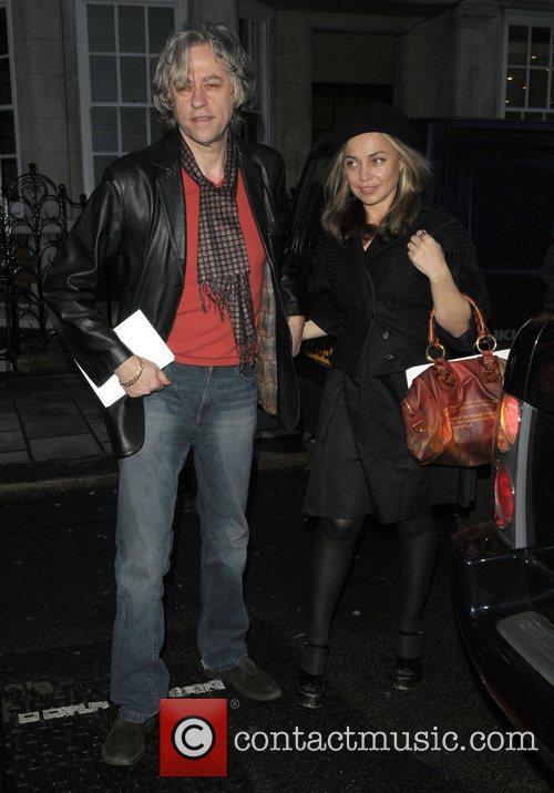 Bob Geldof and Jeanne Marine The 10th Anniversary...