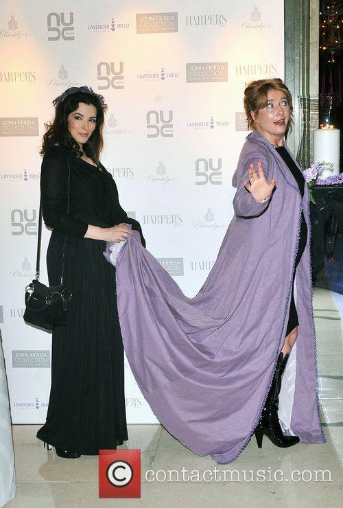 Emma Thompson and Nigella Lawson The 10th Anniversary...