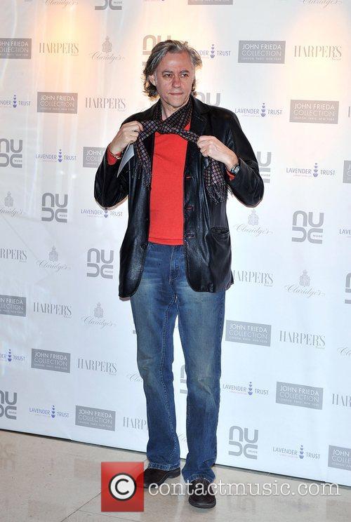 Sir Bob Geldof The 10th Anniversary Party of...
