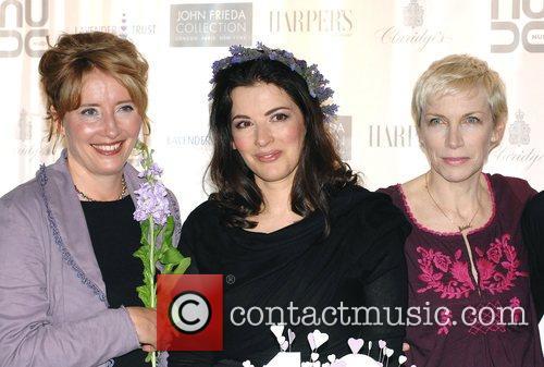 Emma Thompson, Nigella Lawson and Annie Lennox The...