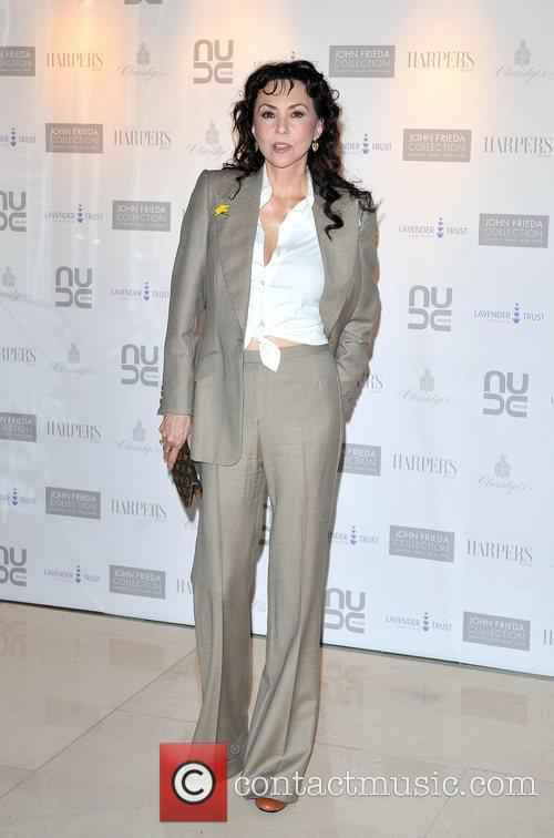 Marie Helvin The 10th Anniversary Party of The...