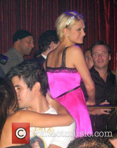 Christina Aguilera Hosts an Evening at LAX Nightclub