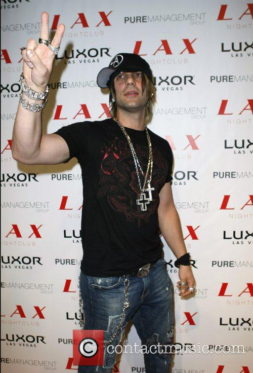 Criss Angel at LAX Nightclub inside the Luxor...