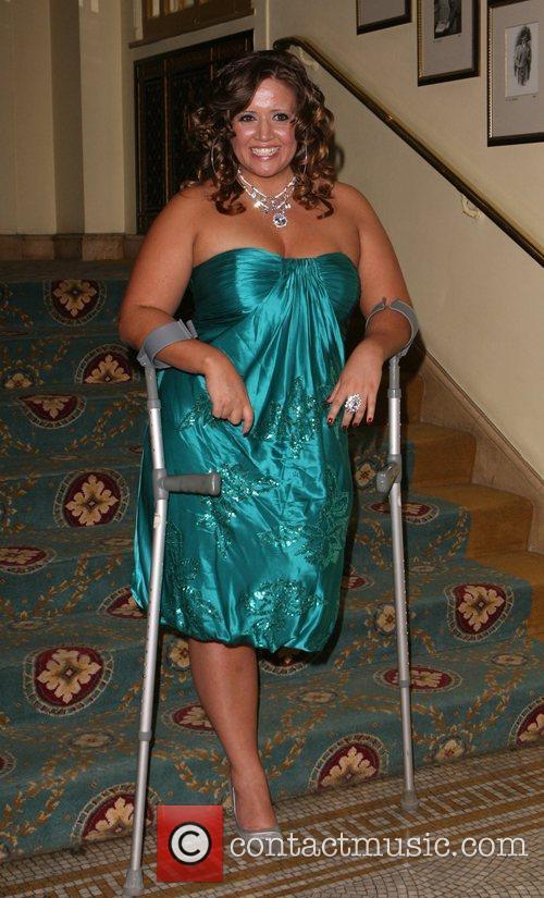 Leanne Gross, who lost her left leg when...