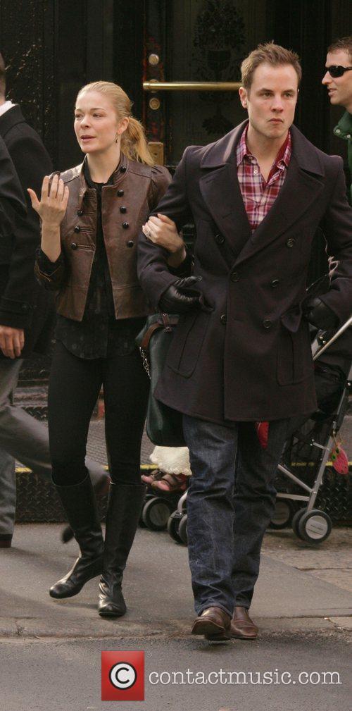 Leann Rimes and Dean Sheremet 2