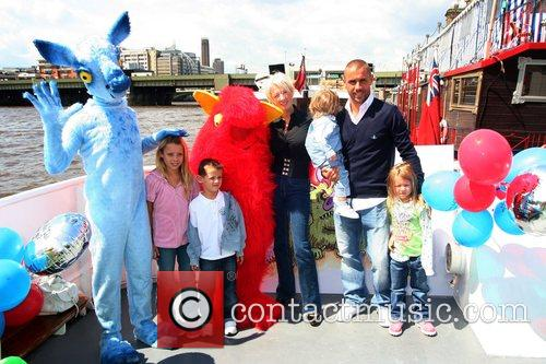 Kevin Phillips and Julie Phillips with their children...