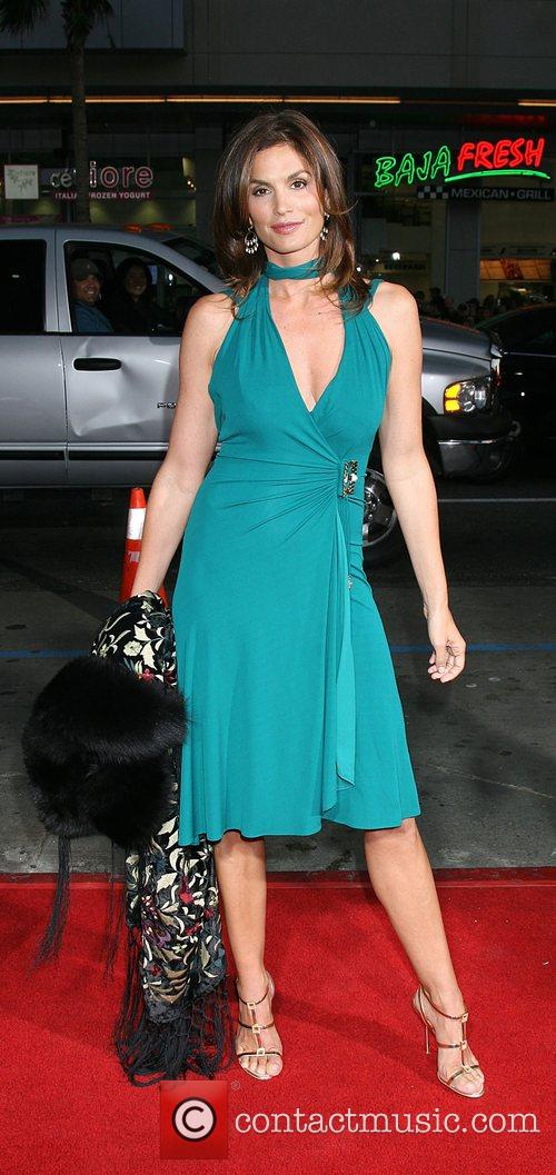Cindy Crawford Attending the 'Leatherheads' Premiere held at...