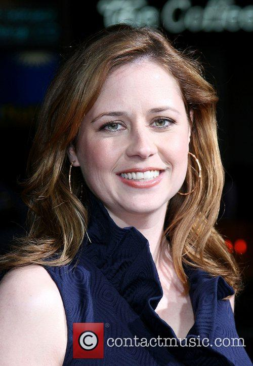 Jenna Fischer Attending the 'Leatherheads' Premiere held at...